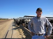 Caption: Ross Tappan used to manage a dairy in Mesa, Ariz., that switched to using E-Verify., Credit: Jude Joffe Block