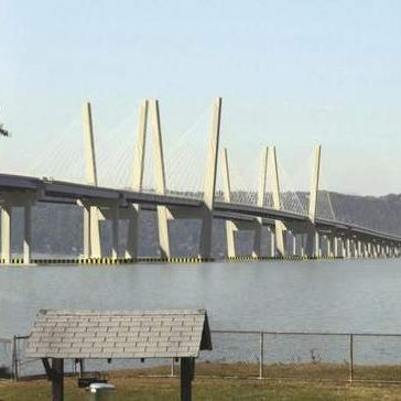 Caption: When completed the new TappanZee Bridge will be the world's widest bridge. , Credit: Conceptual design/New York State Thruway Authority