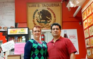 Caption: Luis & Luisa Quintero of Luis' Tacqueria in Woodburn, OR, Credit:  Photo by Richard Jensen