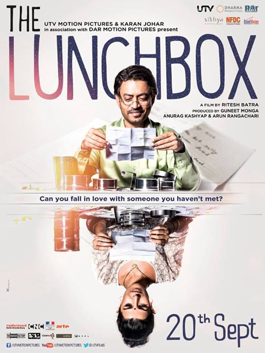 Caption: The Lunchbox Poster, Credit: Lunchbox the movie