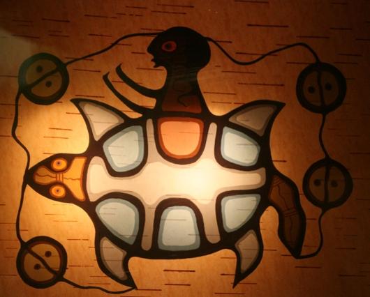 Caption: Teachings From Turtle Island