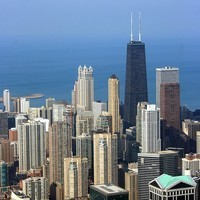 Caption: Chicago From Above, Credit: Wakedog via Flickr