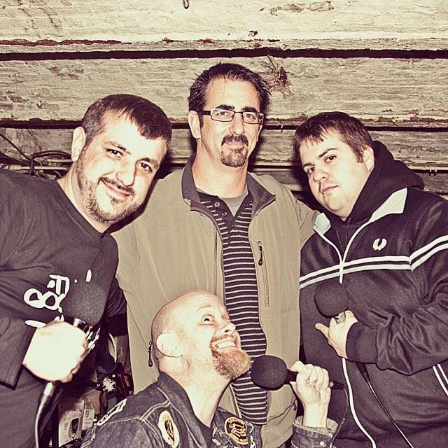 Caption: Bobby Pickles (left); Ricky Ravioli (top-center); Geoffy Batts (right); Copstabber Dave (bottom-center), Credit: Adrien de Martini