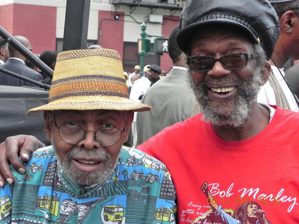 Caption: Amiri Baraka and Dred-Scott Keyes