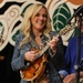 Caption: Rhonda Vincent return to the WoodSongs stage.