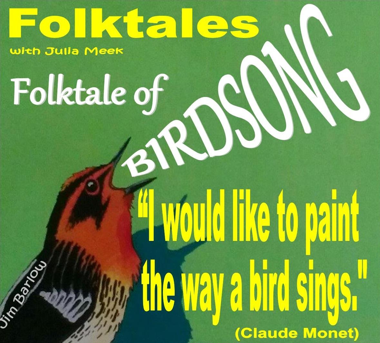 Caption: WBOI's Folktale of Birdsong, Credit: Julia Meek