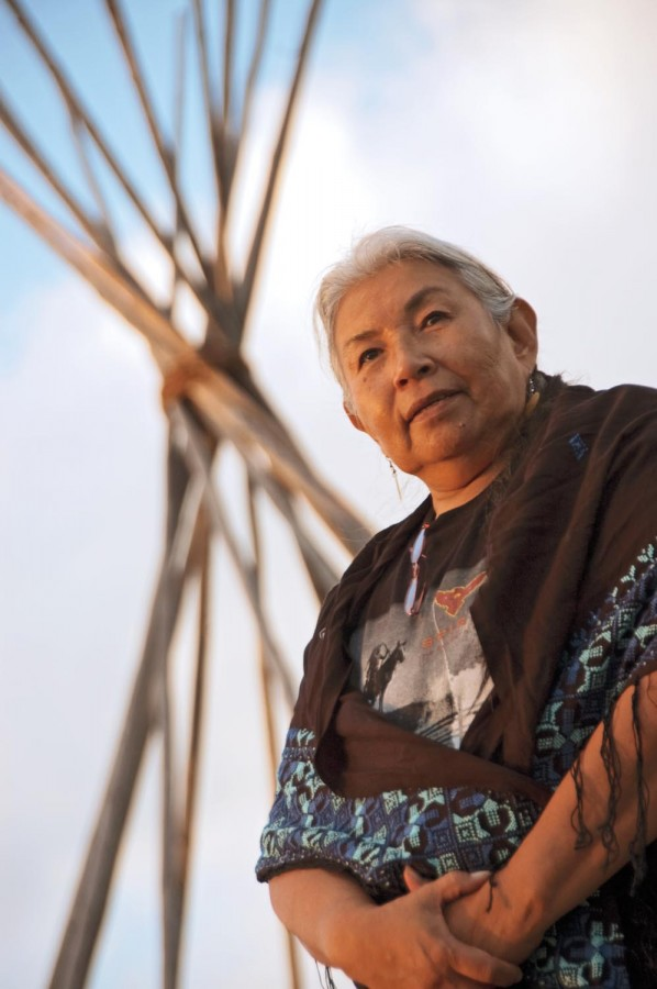 Caption: Faith Spotted Eagle