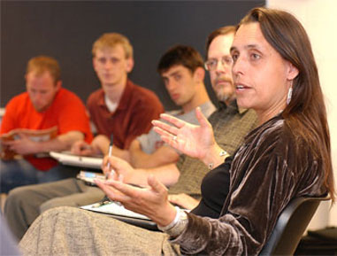 Caption: Winona LaDuke and Zoltan Grossman