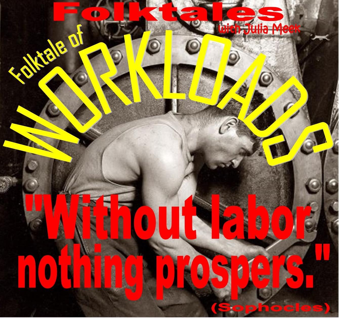 Caption: WBOI's Folktale of Workloads, Credit: Julia Meek