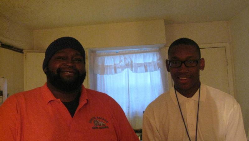Caption: Charles Johnson and Desmond Davis, Credit: Bill Zeeble/KERANews