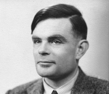 Caption: Alan Turing, 1951, Credit: Wikimedia Commons