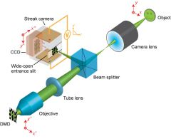 Caption: This diagram shows how the new imaging technique works., Credit: Lihong Wang, Washington University