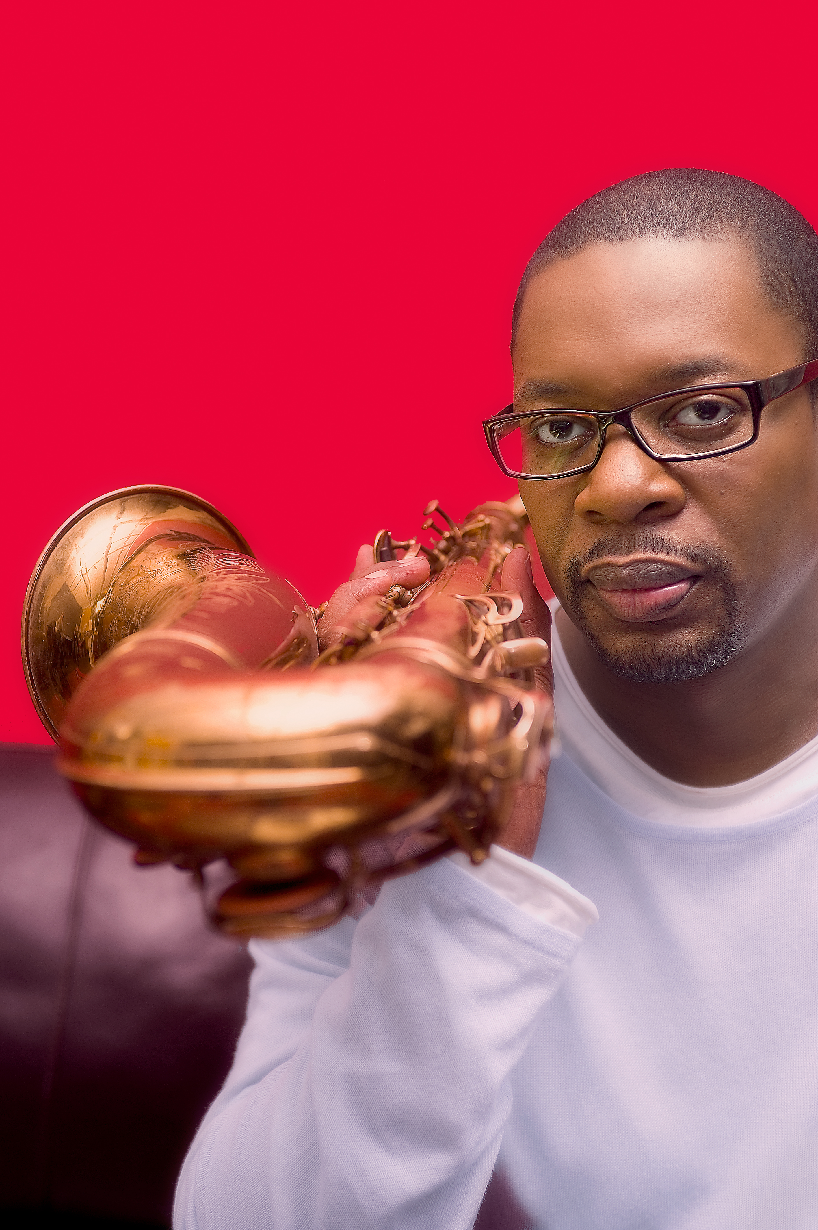 Caption: Ravi Coltrane