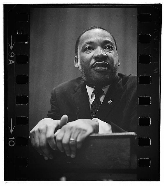 Caption: Dr. Martin Luther King, Jr.