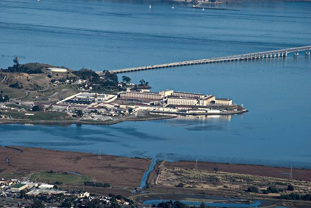 Caption: San Quentin State Prison, Credit: Flickr user John Weiss