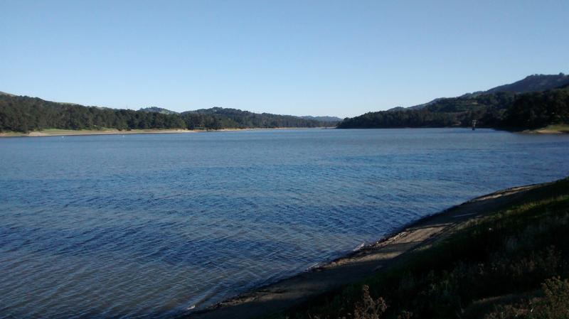 Caption: San Pablo Reservoir, Credit: Todd Whitney