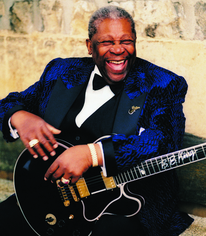 Caption: B.B. King