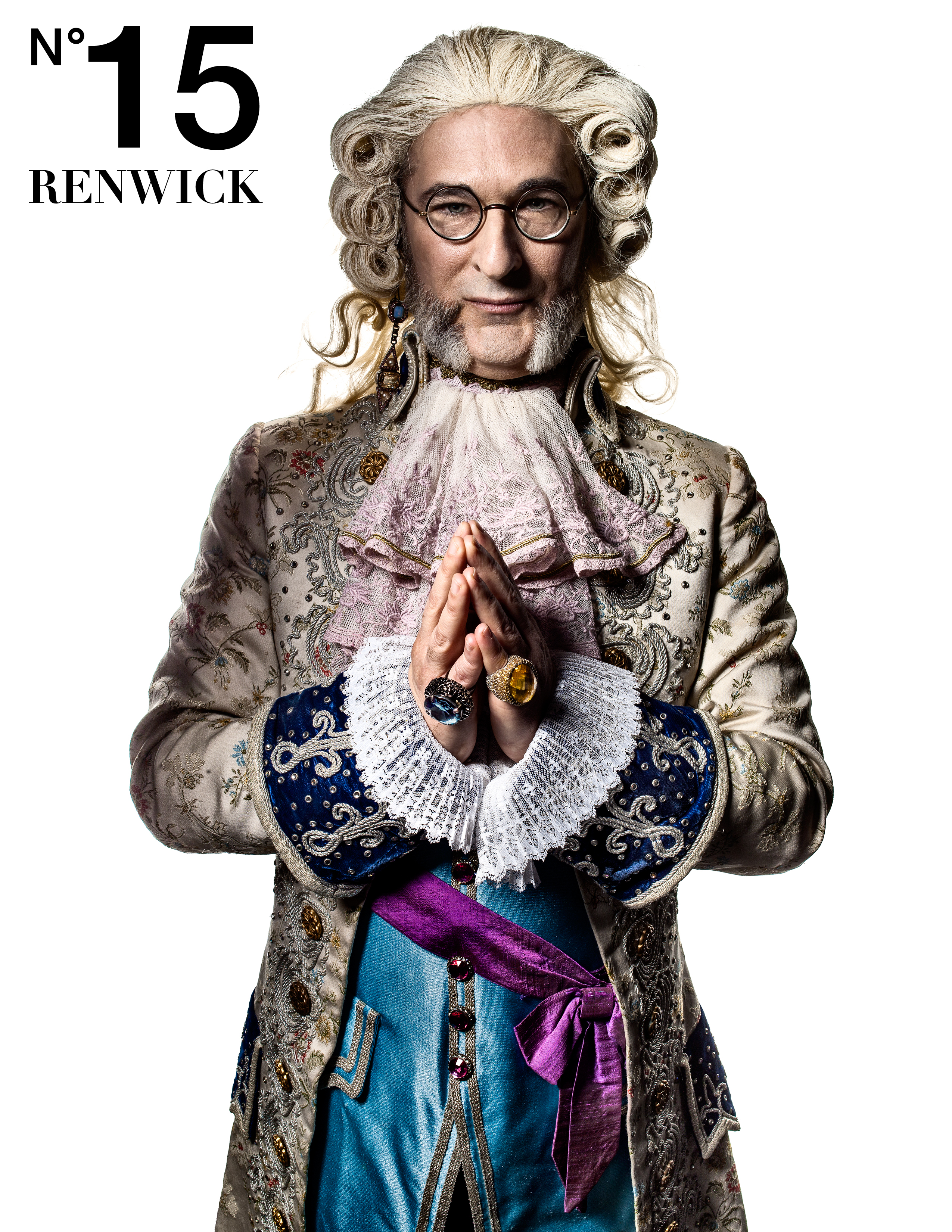 Caption: The astronomer from the 15 Renwick Ad campaign., Credit: MARCH/IF Studio