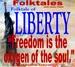 Caption: WBOI's Folktale of Liberty, Credit: Julia Meek