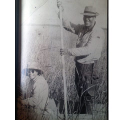 Caption: Lavina's father Bert Gale, Sr. & mother Lillian Gale Ricing