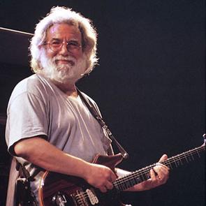 Caption: Jerry Garcia