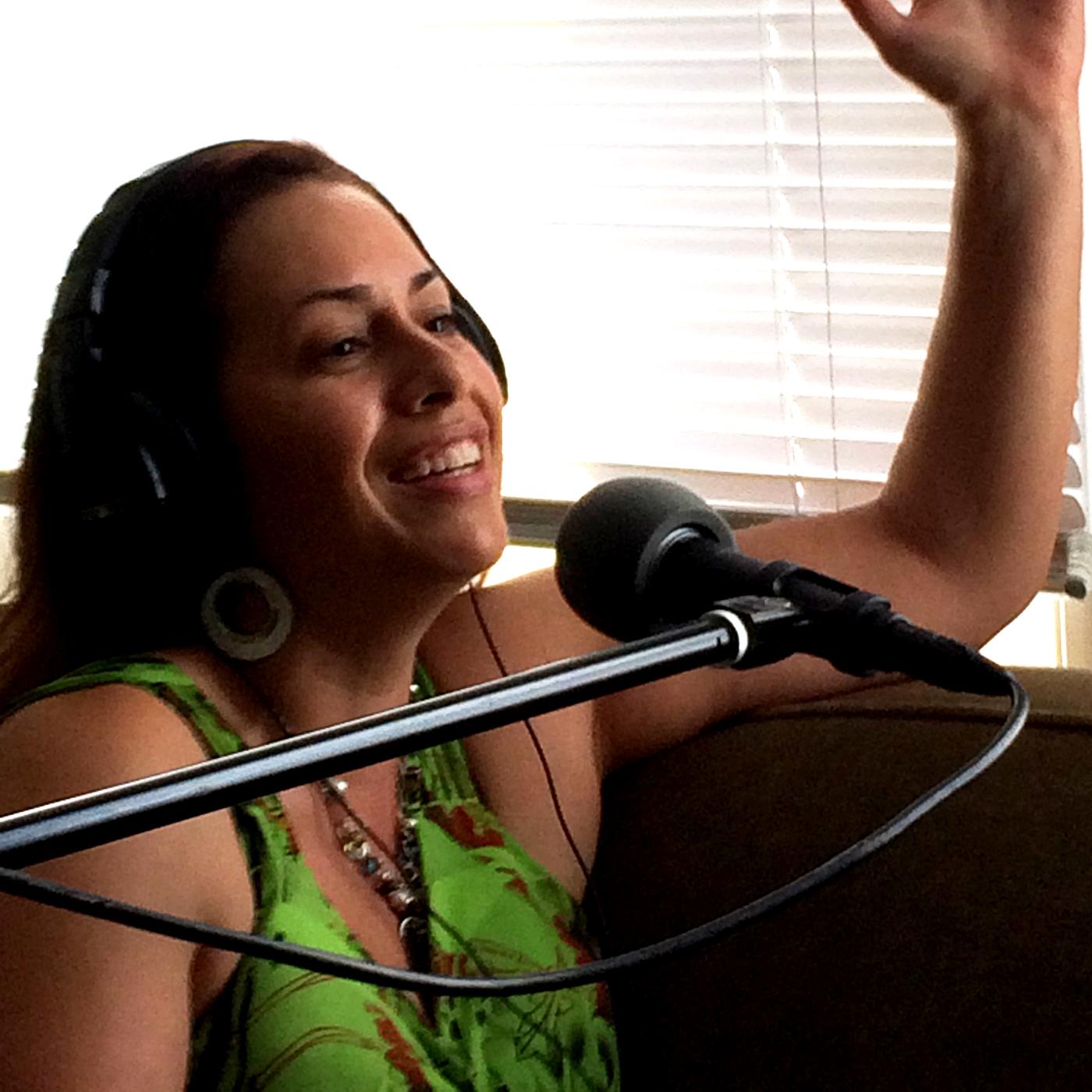 Caption: Gina Garro on MIW, Credit: Oddua Productions