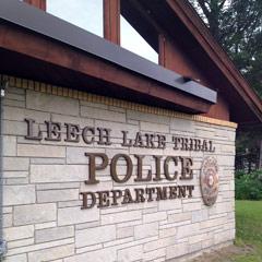 Caption: Leech Lake Tribal Police Department