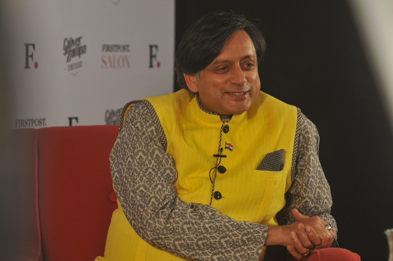 Caption: Shashi Tharoor