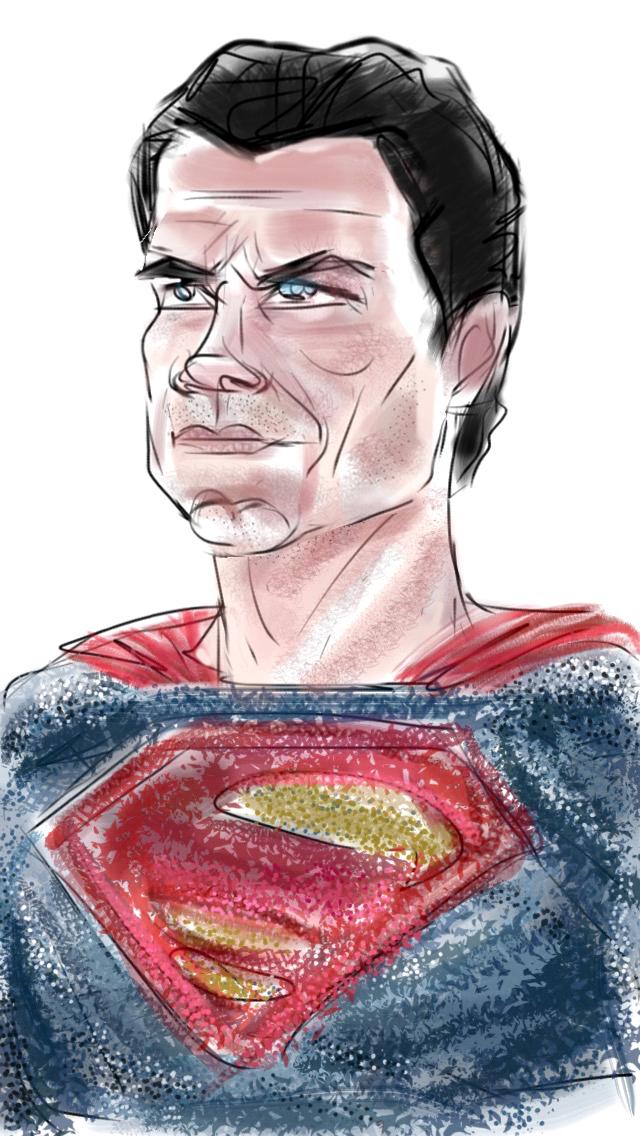 Caption: Henry Cavill as Superman, Credit: Eric Molinsky