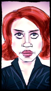 Caption: Scarlett Johansson as Natasha Romanoff, a.k.a. Black Widow, Credit: Eric Molinsky