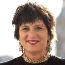 Caption: Eve Ensler