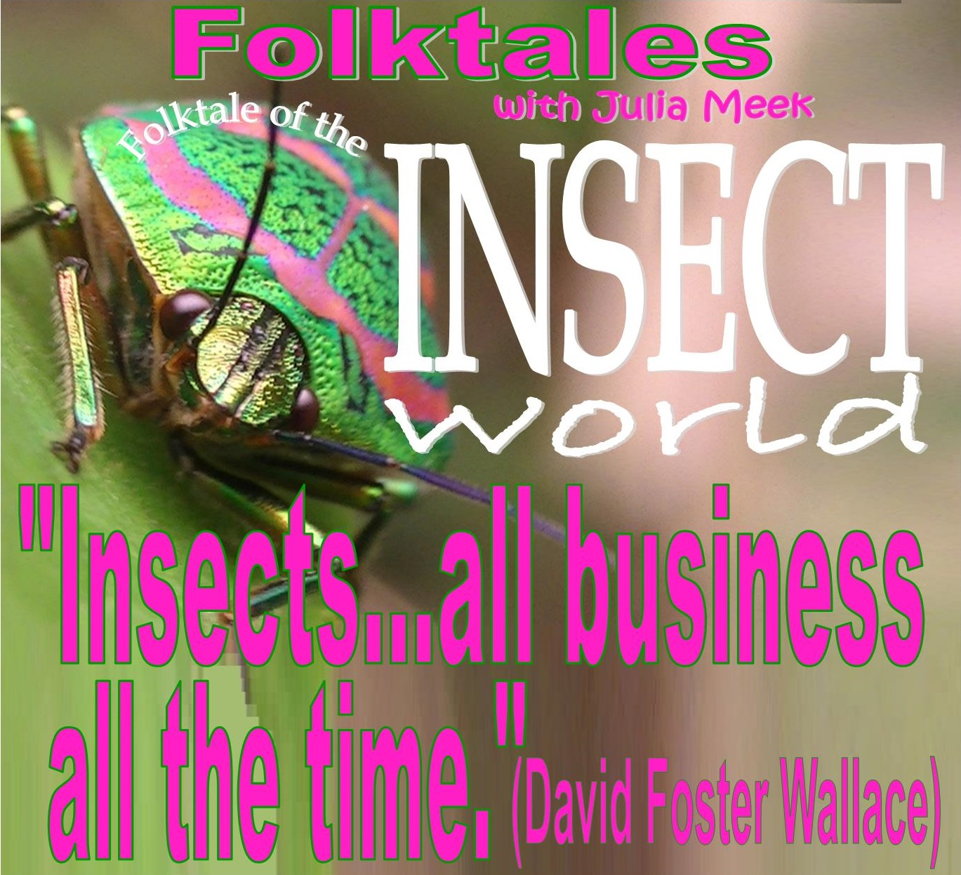 Caption: Folktale of The Insect World, Credit: Julia Meek