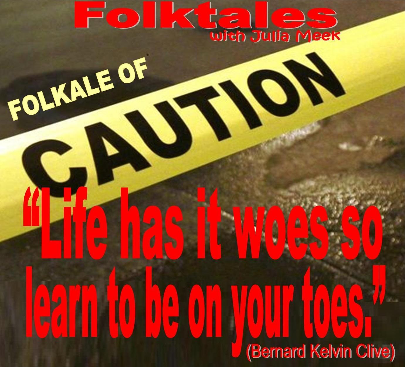 Caption: WBOI's Folktale of Caution, Credit: Julia Meek