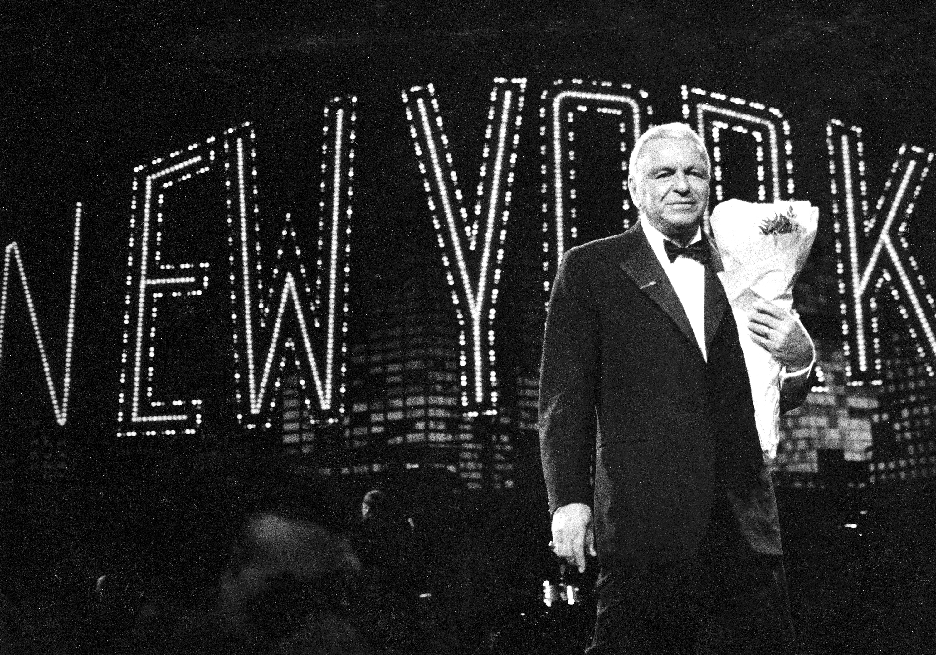 Caption: Frank Sinatra in concert at Radio City Music Hall. May 15, 1998, Credit: New York Daily News Archive /Getty