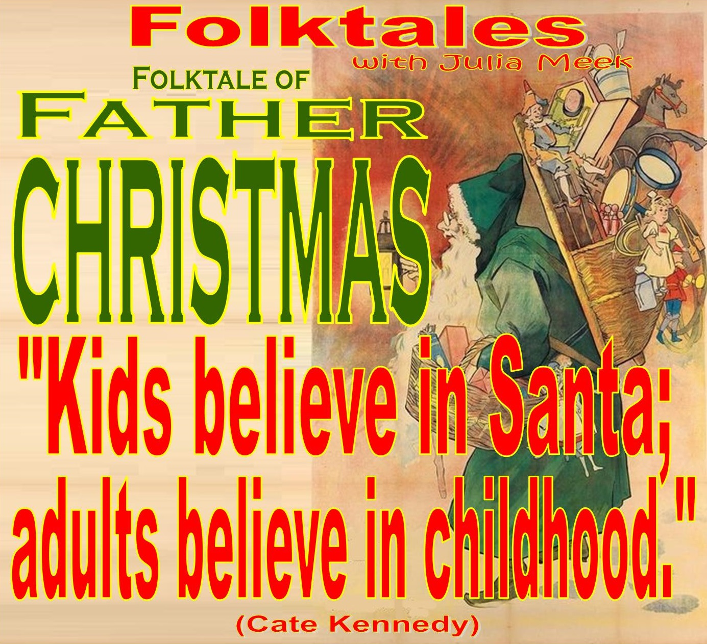Caption: WBOI's Folktale of Father Christmas, Credit: Julia Meek