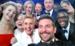 Caption: Ellen and other celebrities at the 2014 Oscars in a selfie that went viral. , Credit: Ellen Degeneres