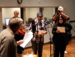Caption: Artists' Ensemble performs in Studio A, Credit: Carl Nelson