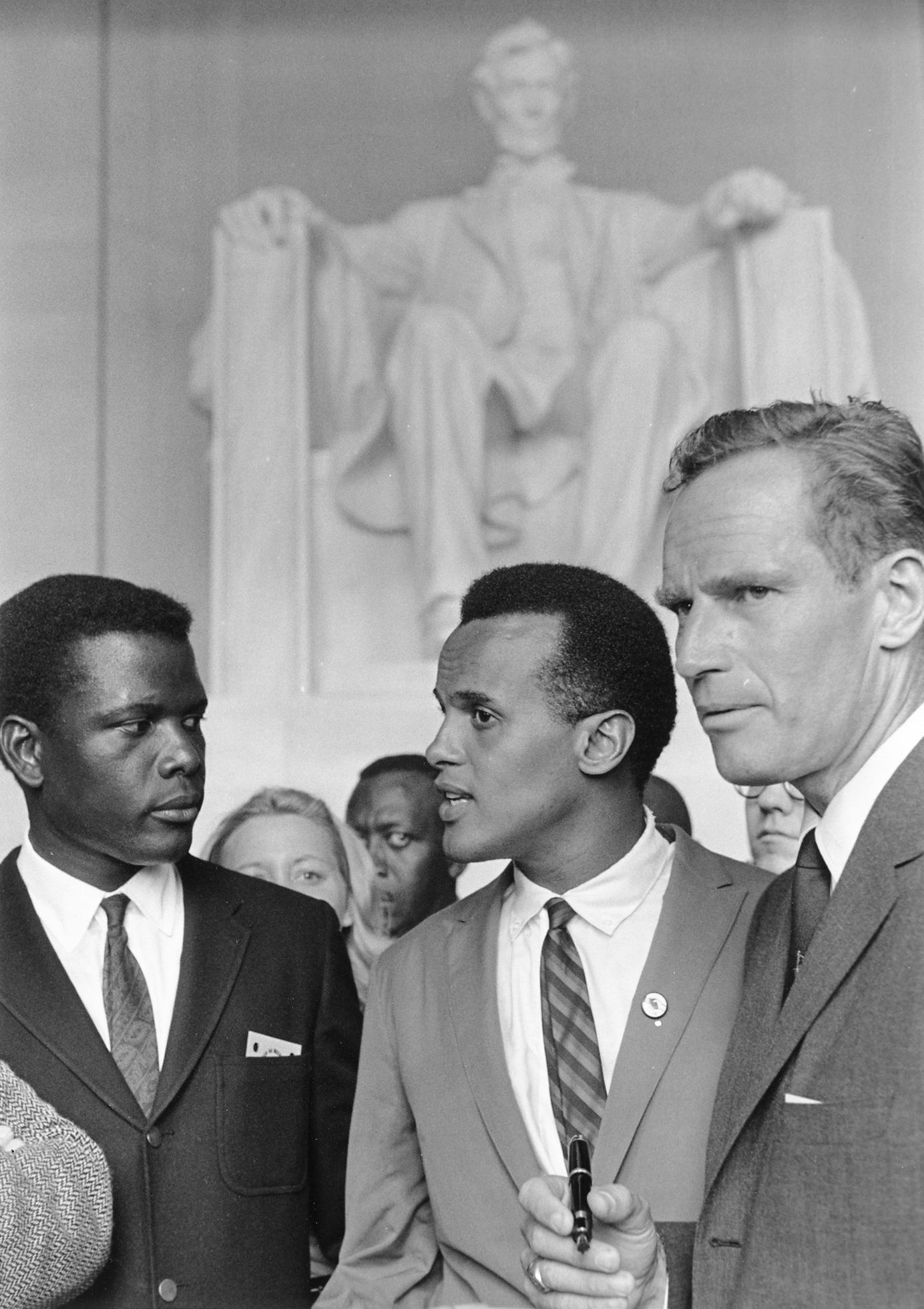 Poitier_Belafonte_Heston_Civil_Rights_March_1963_medium_square.jpg