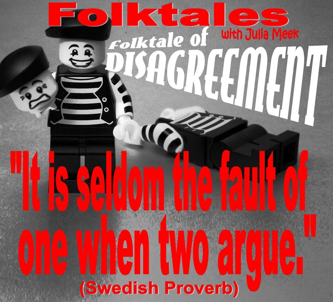 Caption: WBOI's Folkale of Disagreement, Credit: Julia Meek