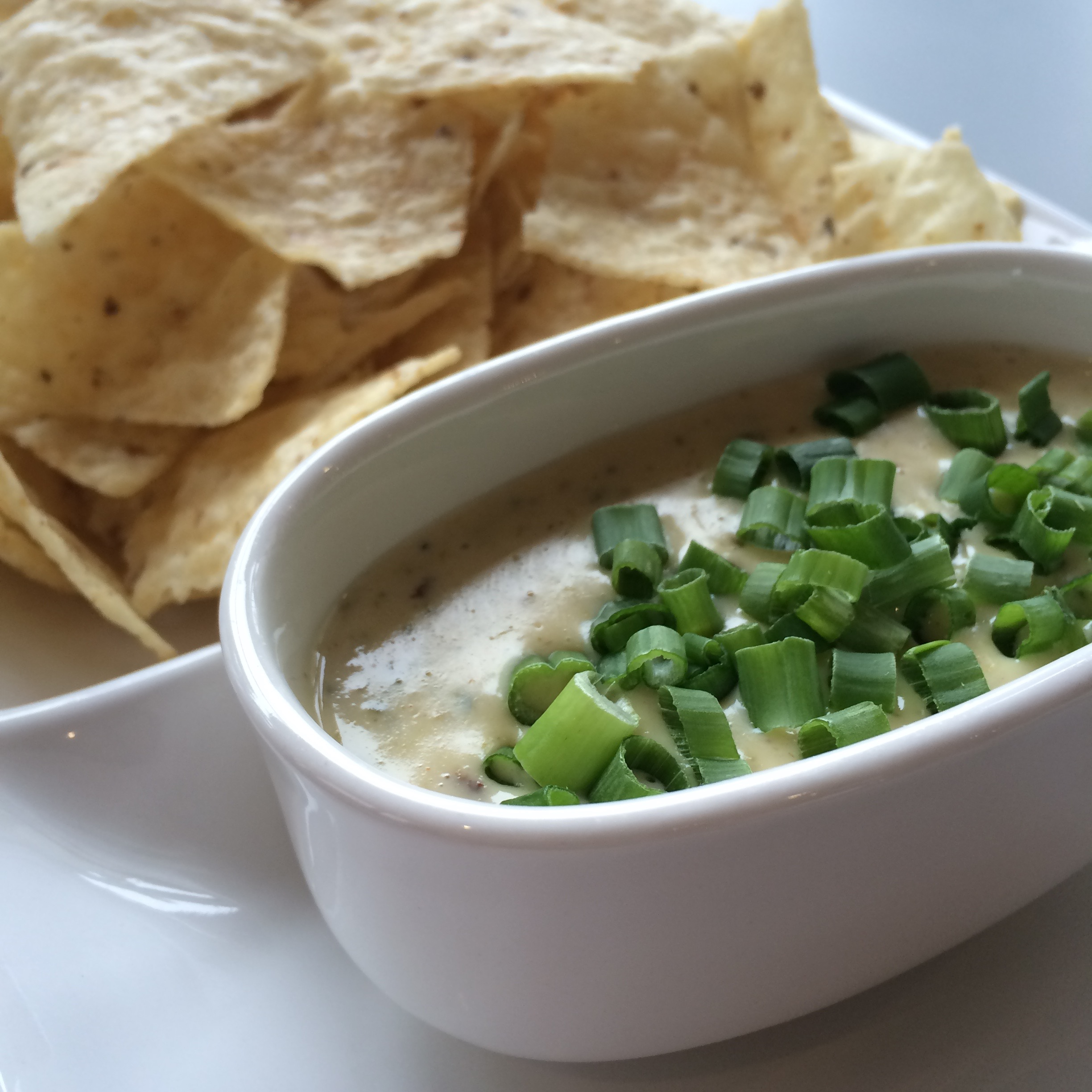 Caption: The winner of the World Cheese Dip Competition, held in Little Rock on October 31st, 2015: Poblano Goat Cheese Dip from Café @ Heifer. , Credit: Photo by Tina Antolini.