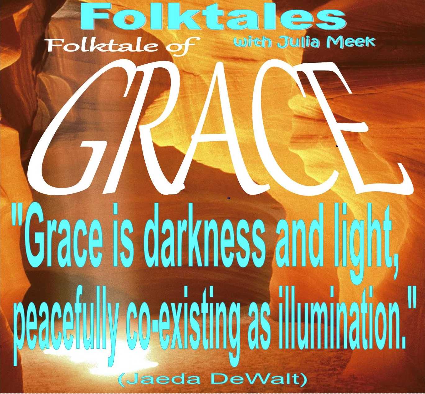 Caption: WBOI's Folktale of Grace, Credit: Julia Meek
