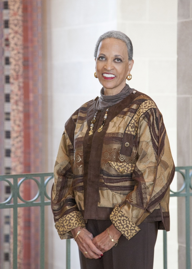 Caption: Dr. Johnnetta Cole, Credit: Jessica Suworoff, National Museum of African Art, Smithsonian Institution