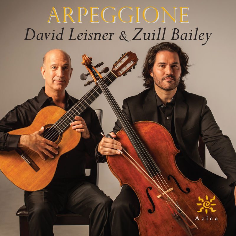 Caption: David Leisner & Zuill Bailey CD, Credit: Azica Records