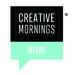 Caption: Creative Mornings Miami