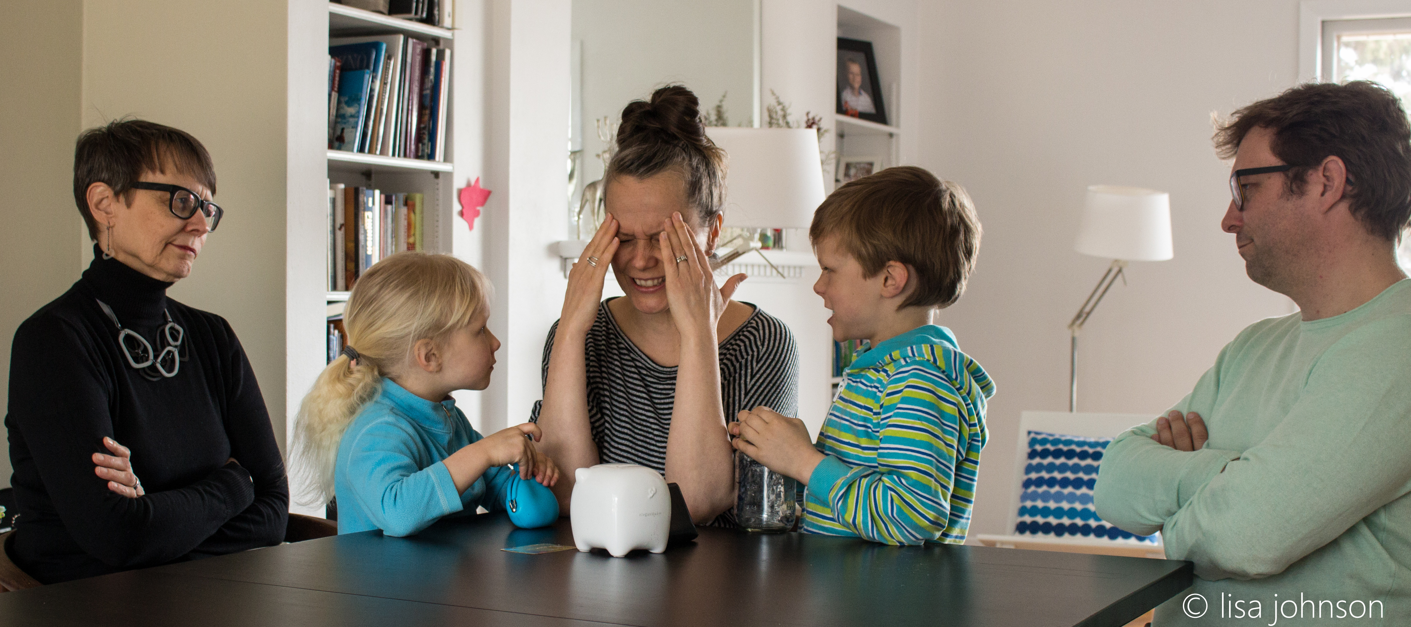 Caption: Photo taken for illustrative purposes only. The Salmela family never has awkward conversations about money., Credit: ©lisa johnson/Thorsburg Photography
