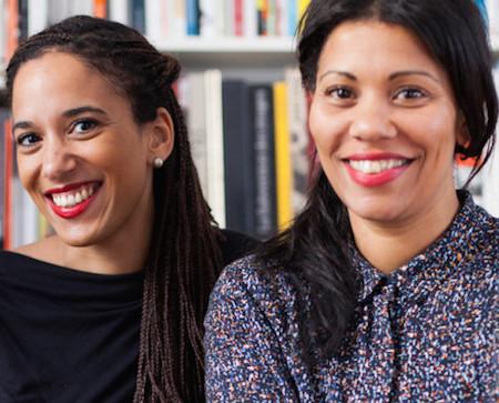 Caption: Yvette Mutumba and Julia Grosse, Credit: Bejamin Renter