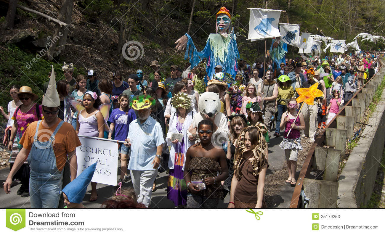 Caption: 2012 All Species Day Parade, Credit: http://thumbs.dreamstime.com/z/2012-all-species-day-25179253.jpg