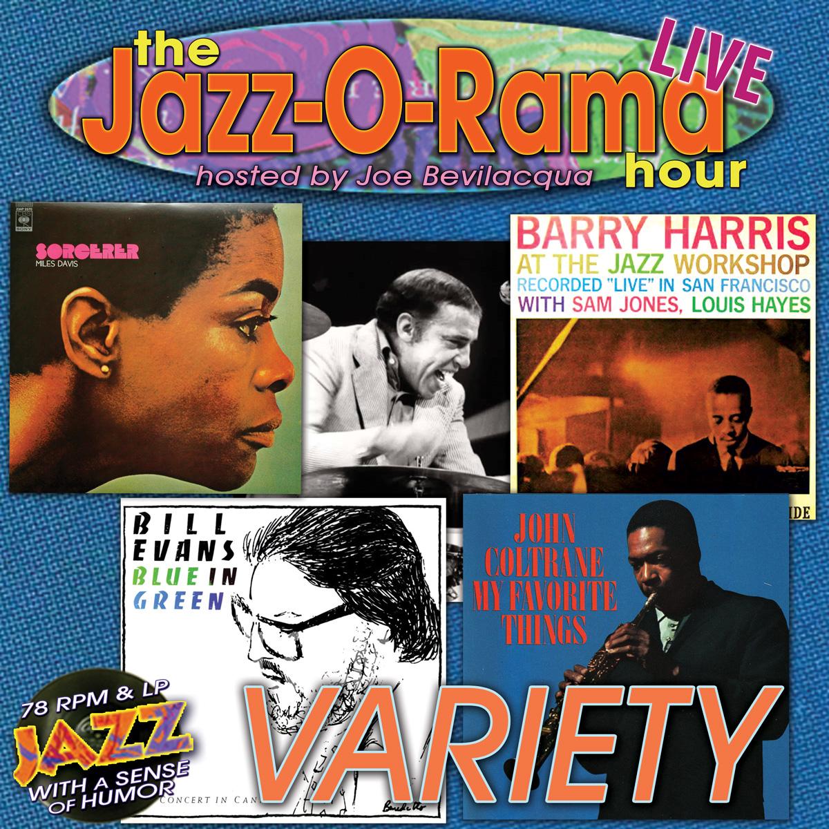 "Caption: Joe Bev hosts an hour of classic jazz ""Variety""., Credit: Lorie Kellogg"