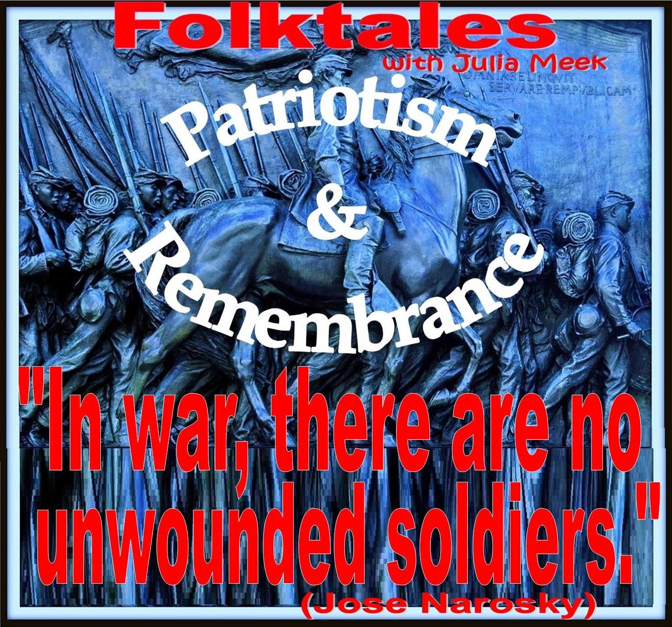 Caption: WBOI's Folktale of Patriotism & Remembrance, Credit: Julia Meek