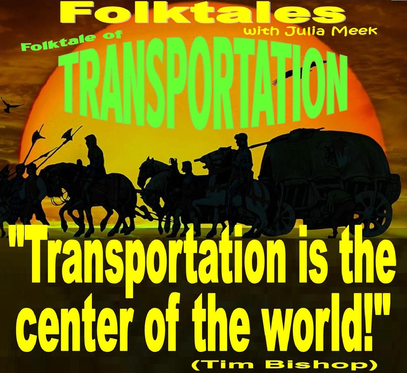 Caption: WBOI's Folktale of Transportation, Credit: Julia Meek